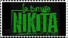 La Femme Nikita stamp by delira