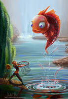 Fishing by delira