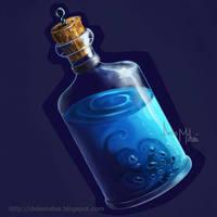 Mana Potion by delira