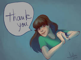 Thank you by delira