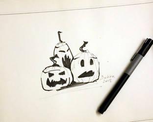Pumpkins by delira