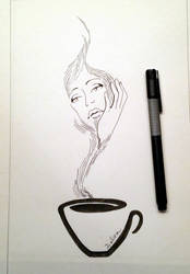 Hot Drink by delira