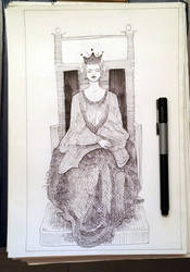 Young Queen by delira
