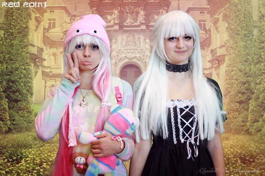 Kawaii and Goth Lolitas