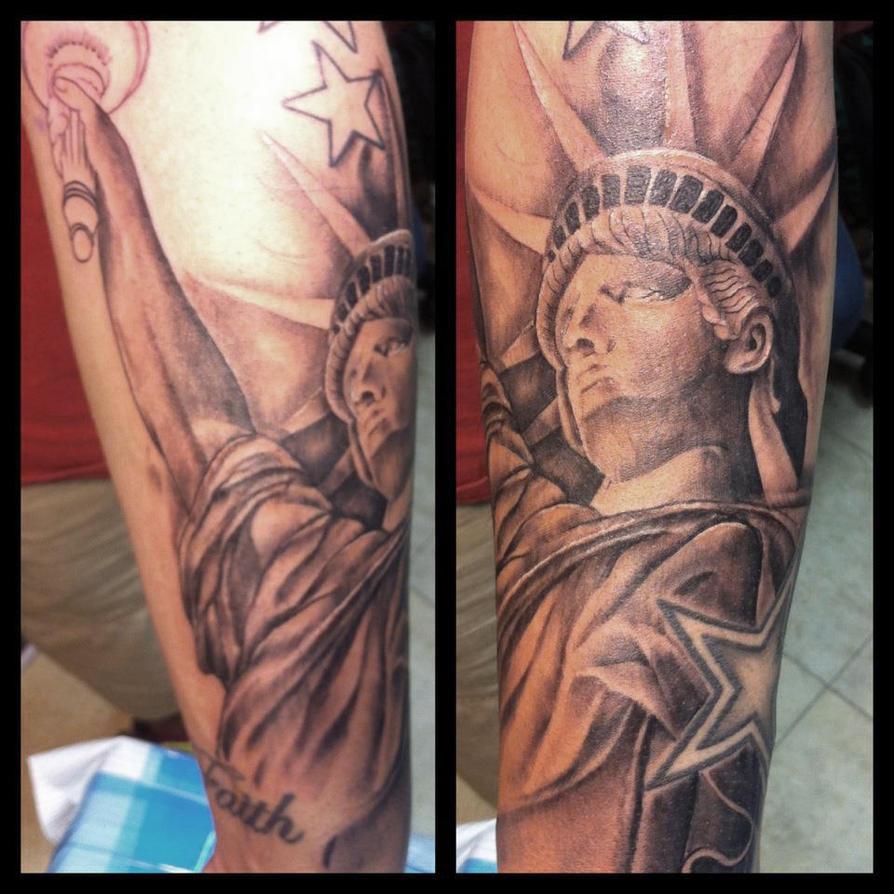 Patriotic Sleeve Tattoo