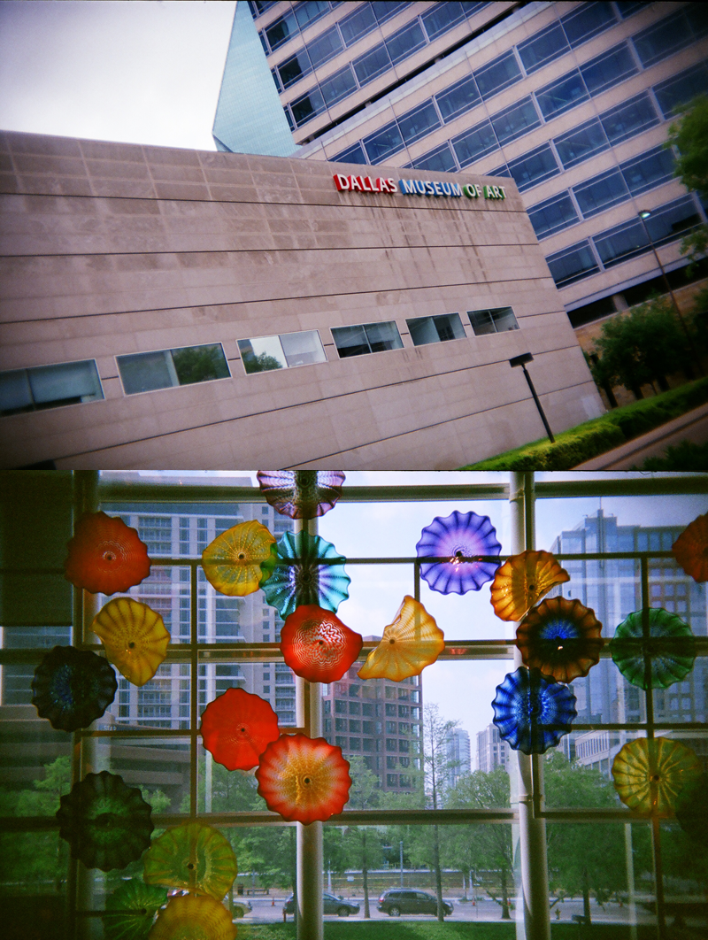 Dallas in Holga 135BC: Dallas Art Museum