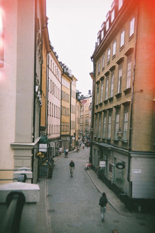 Stockholm in 135BC: Gamla View by neuroplasticcreative