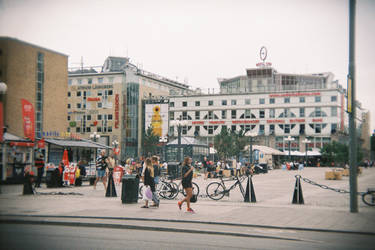 Stockholm in 135BC: Medborgarplatsen
