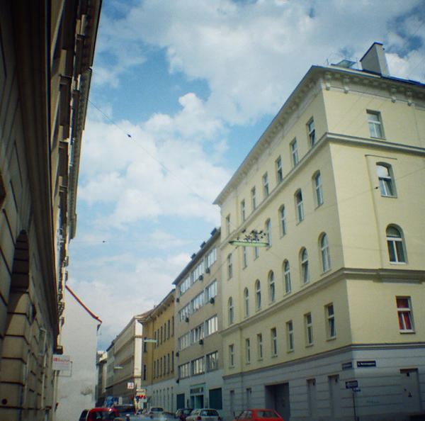 Wien in Diana Mini: Schreygasse by neuroplasticcreative