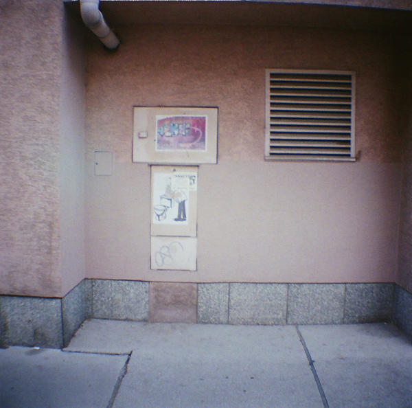 Wien in Diana Mini: Urban Peach by neuroplasticcreative