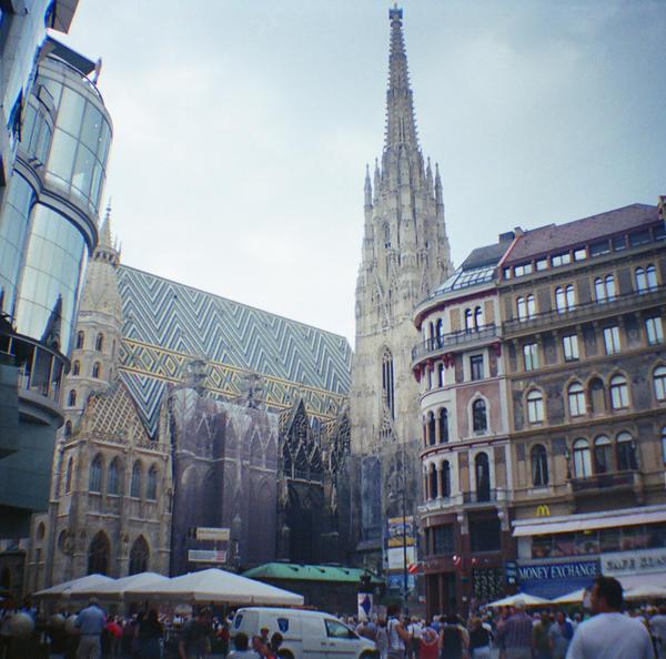 Wien in Diana Mini: Stephansdom Tall
