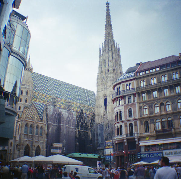 Wien in Diana Mini: Stephansdom Tall by neuroplasticcreative