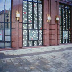 Wien in Diana Mini: Grand Pixel by neuroplasticcreative