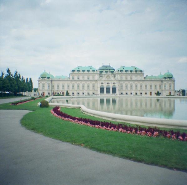 Wien in Diana Mini: Belvedere Palace I by neuroplasticcreative