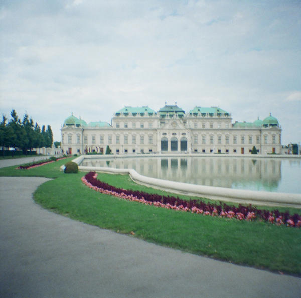 Wien in Diana Mini: Belvedere Palace I by neuroplasticcreative