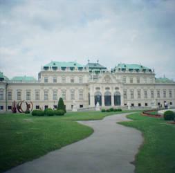 Wien in Diana Mini: Belvedere Palace IV by neuroplasticcreative