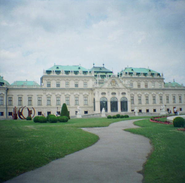 Wien in Diana Mini: Belvedere Palace IV by neuroplasticcreative