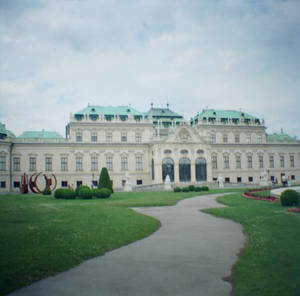 Wien in Diana Mini: Belvedere Palace IV