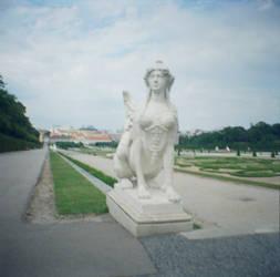 Wien in Diana Mini: Miss Belvedere by neuroplasticcreative