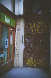 Wien in Holga 135BC: Invitation by neuroplasticcreative