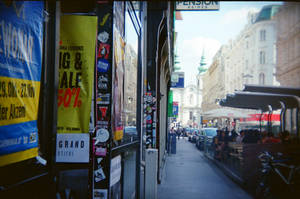Wien in Holga 135BC: The Street in the Summer