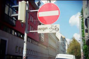Wien in Holga 135BC: Forbidden
