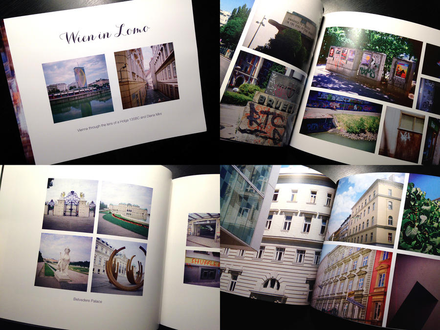 Photobook: Wien in Lomo by neuroplasticcreative