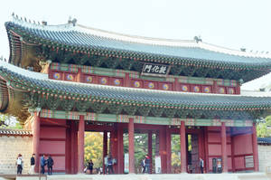 Changdeokgung Palace: Gate I by neuroplasticcreative