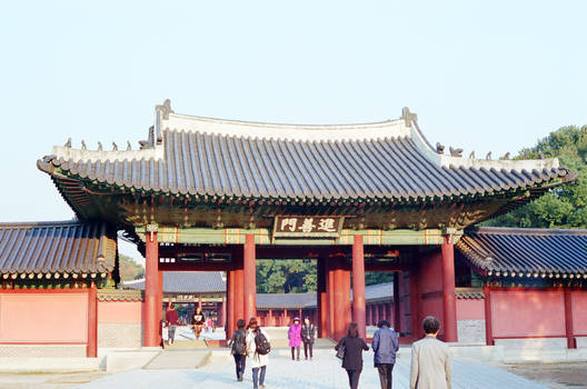 Changdeokgung Palace: Gate II by neuroplasticcreative