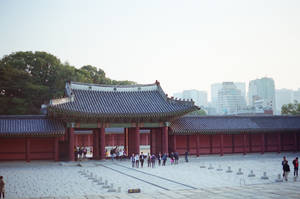 Changdeokgung Palace: Gate III by neuroplasticcreative