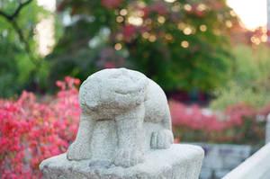 Changdeokgung Palace: Palace Guardian by neuroplasticcreative