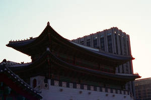 Gyeongbokgung Palace: Sunset Contrast by neuroplasticcreative