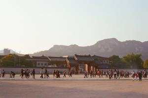 Gyeongbokgung Palace: Passing By II by neuroplasticcreative