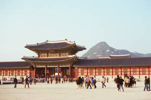 Gyeongbokgung Palace: Passing By IV by neuroplasticcreative