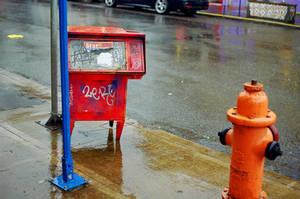Alberta in the Rain: Redrun by neuroplasticcreative