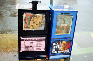 Alberta in the Rain: My News or Your News by neuroplasticcreative