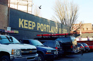 Downtown PDX: Keep Portland Weird I by neuroplasticcreative