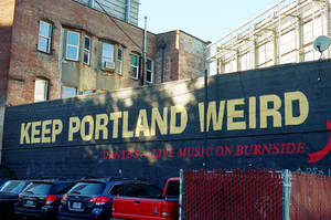 Downtown PDX: Keep Portland Weird II by neuroplasticcreative