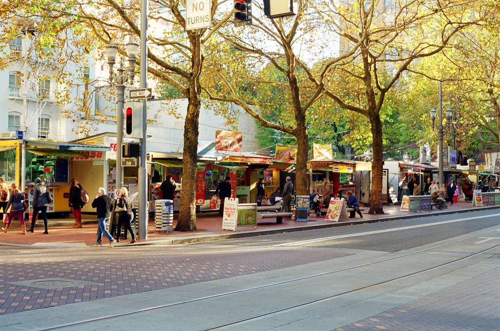 Mexican Food Cart Downtown Portland