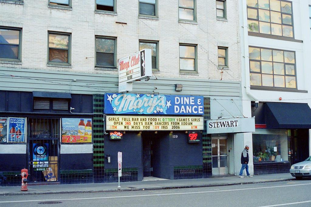 Downtown PDX: Mary's Strip Club
