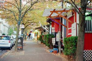 Downtown PDX: Alder Food Cart Pod III by neuroplasticcreative