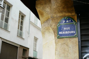Paris Beaubourg: Rue Beaubourg by neuroplasticcreative