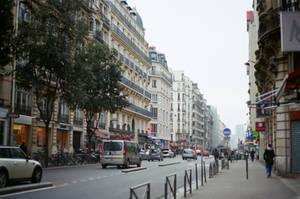 Paris Beaubourg: Street II by neuroplasticcreative