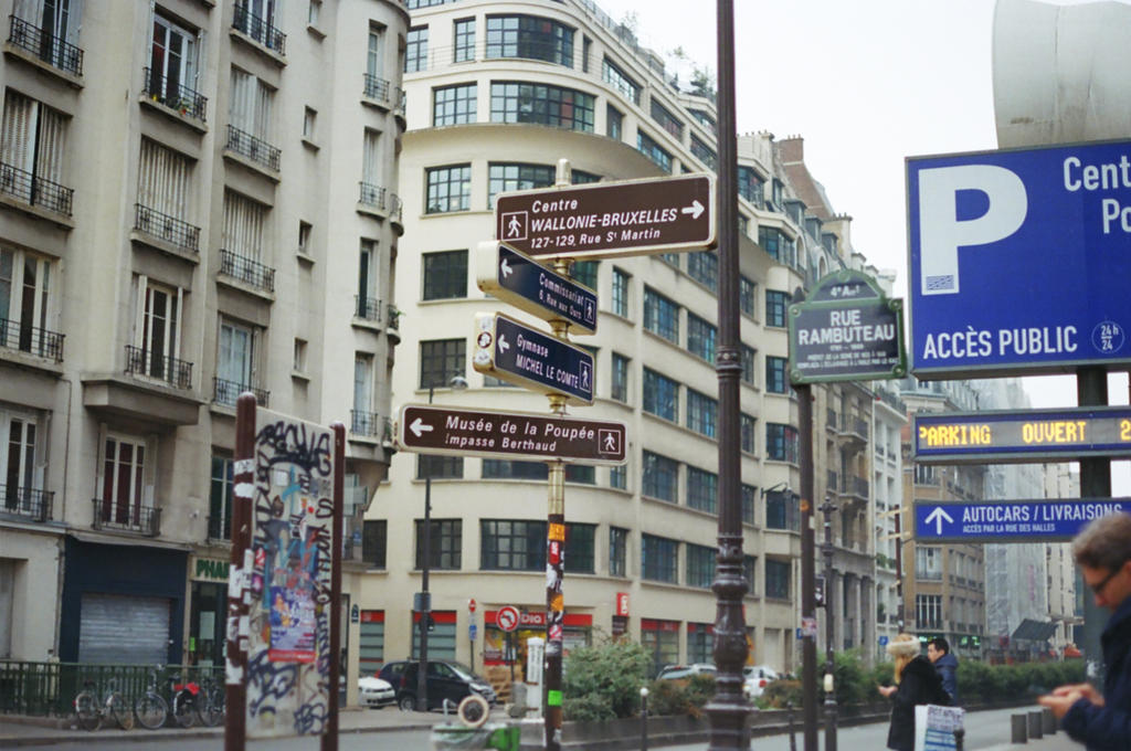 Paris Pompidou: Centre Pompidou by neuroplasticcreative