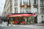 Paris Beaubourg: Street Cafe by neuroplasticcreative