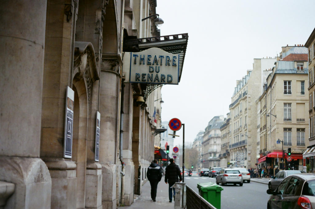 Paris Theatre du Renard by neuroplasticcreative
