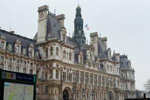 Paris: City Hall by neuroplasticcreative