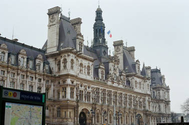 Paris: City Hall by neuroplasticcreative