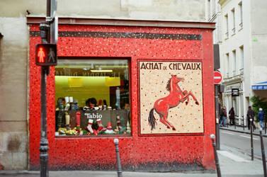 Paris Le Marais: Achat de Chevaux