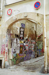 Paris Le Marais: JUST DO ART by neuroplasticcreative